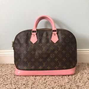LV ALMA PM in baby pink